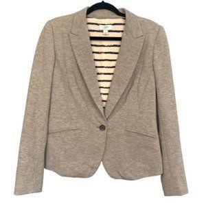 Ann Taylor LOFT Long Sleeve Gray Blazer Size 6